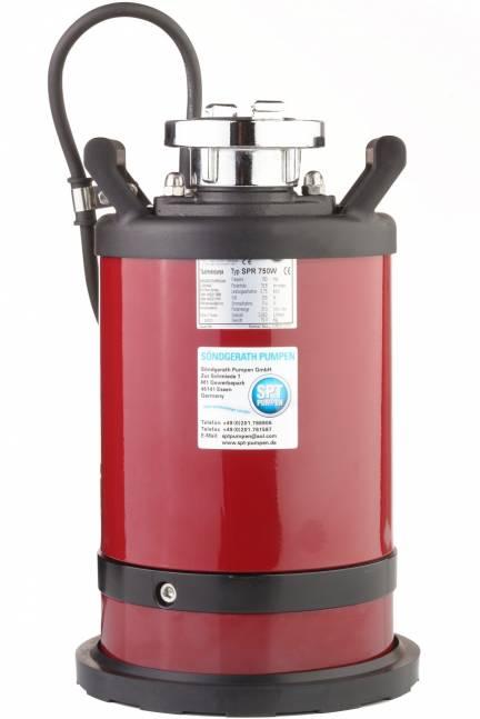 SPR400 fladsugepumpe