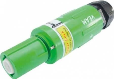 Powerlock line drain grøn