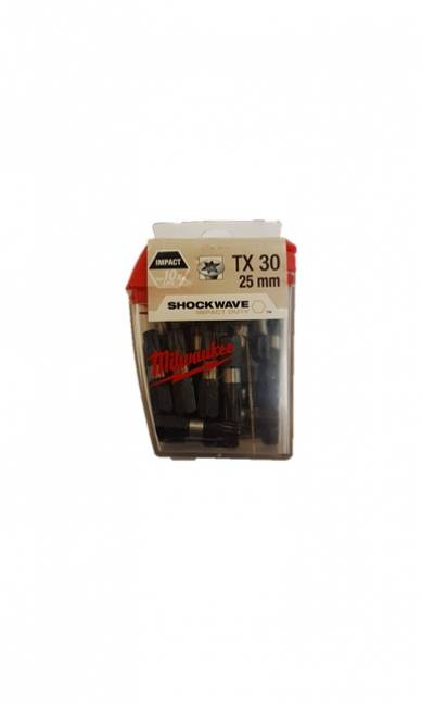 Milwaukee shockwave bits torx 30