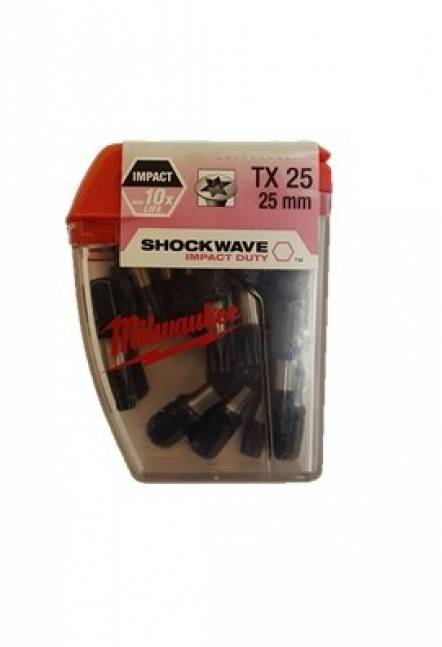 Milwaukee shockwave bits torx 25